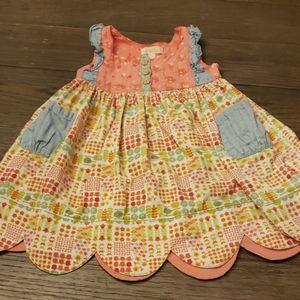 Scalloped dress/tunic